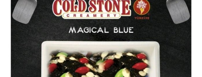 Cold Stone Creamery is one of İst - Dondurma.