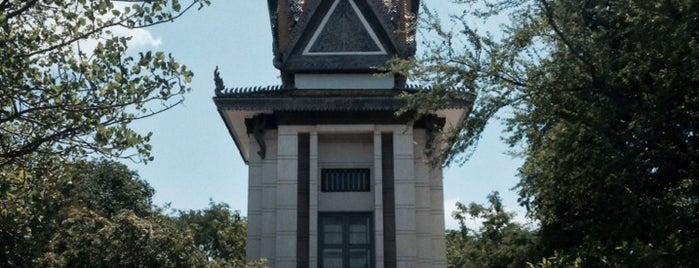Choeung Ek Genocidal Center is one of Gespeicherte Orte von Thiago.