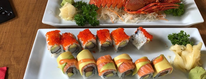 Miyabi Sushi is one of istanbul food.
