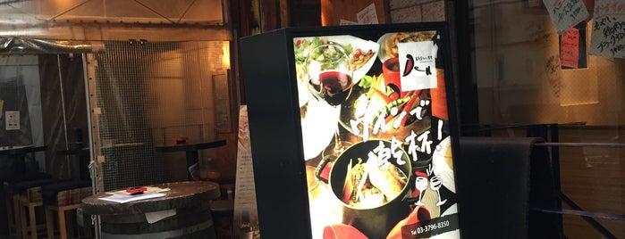 Omotesando Wine Shokudo Den is one of Topics for Restaurant & Bar ⑤.