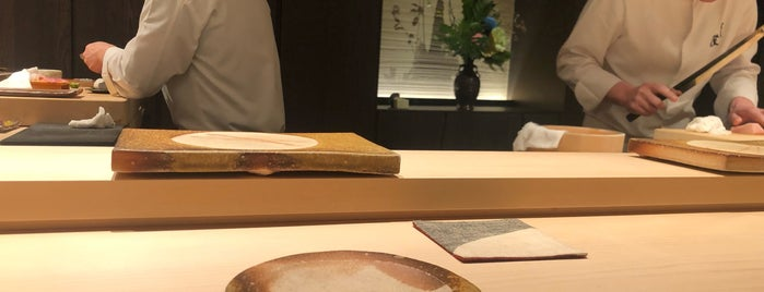 隆鮨 Sushi Ryu is one of 《臺北米其林指南》 2018 星級餐廳 MICHELIN Guide Taipei.