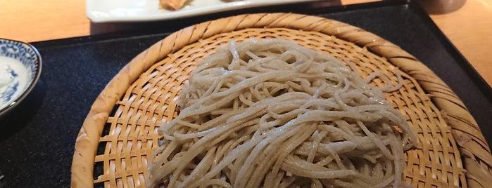 蕎麦屋 にこら is one of ミシュランガイド関西2014 (蕎麦).