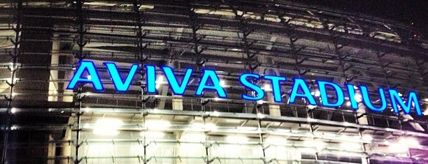 Aviva Stadium is one of UK 2015.