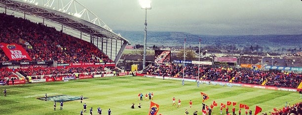 Thomond Park is one of Things to do in Limerick.