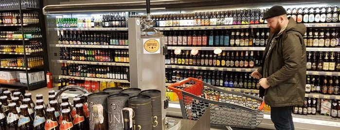 Goodwine Craft Beer Section is one of Craft Beer Kiev Route.