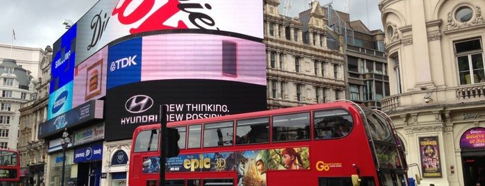 Piccadilly Circus is one of London 2013 Tom Jones.
