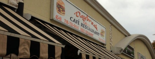 Daybreak Cafe is one of Lieux qui ont plu à Greg.