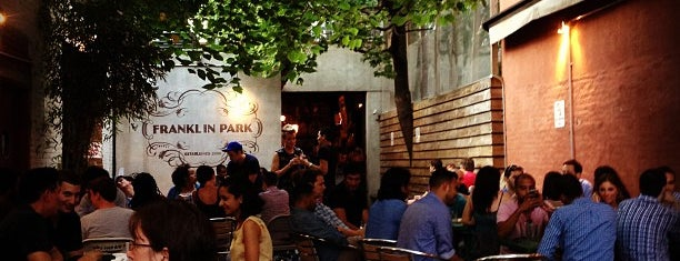 Franklin Park is one of Outdoor Bars.