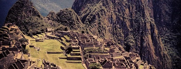 Machu Picchu is one of In the Future.