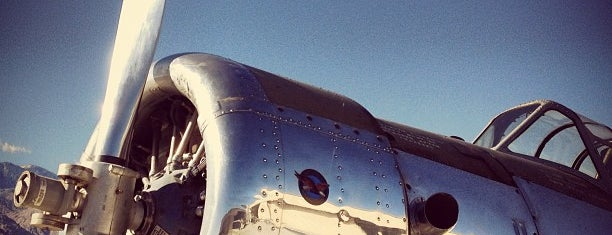 Palm Springs Air Museum is one of Aviation.