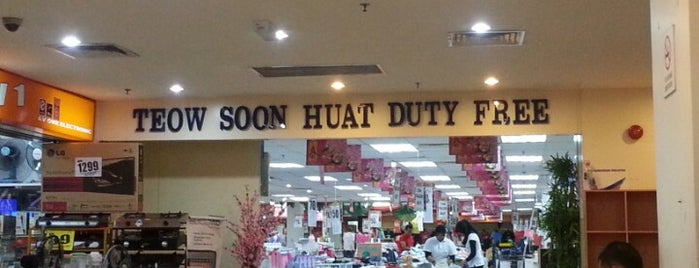TEOW SOON HUAT Duty Free Supermarket & Department Store is one of membeli belah.