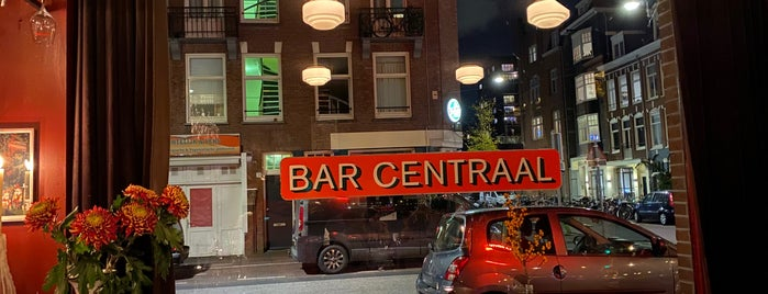 Bar Centraal is one of Z☼nnige terrassen in Amsterdam❌❌❌.