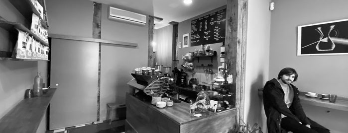 Zero Point Coffee Shop is one of Madrid - Want To Go.