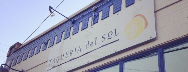 Taqueria Del Sol is one of nashville.