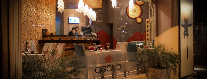 Asato Sushi & Asian food is one of BsAs Internash.