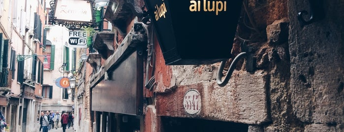 Bar Ai Lupi is one of Italy 2014.