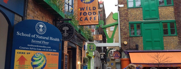 Wild Food Cafe is one of Places to visit in London.