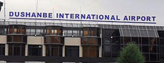 Фурудгохи байналмилалии Душанбе / Dushanbe International Airport (DYU) is one of Airports Visited.