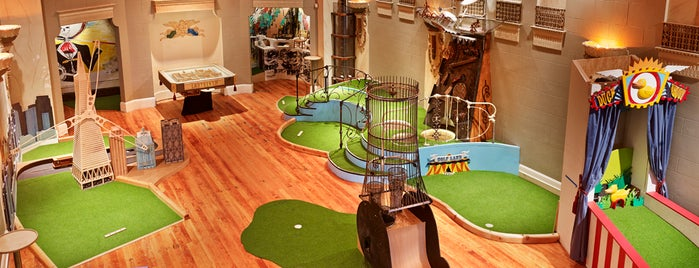 Urban Putt is one of Erin & Brenden's SF.