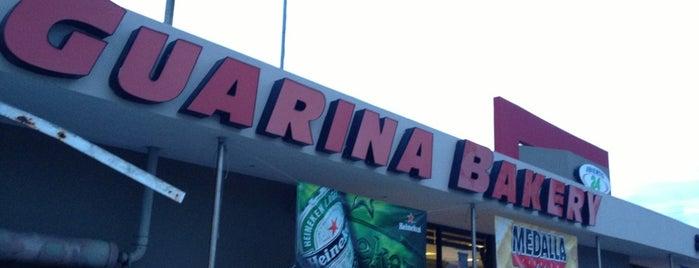 La Guarina Bakery is one of Tempat yang Disukai Estefania.