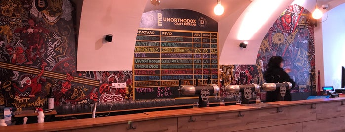 Be Unorthodox Craft Beer Bar is one of Birrerie, birroteche e birrifici.