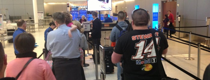TSA Screening is one of Indiana.
