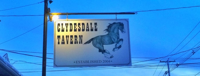 Clydesdale Tavern is one of Bars in Rhode Island to watch NFL SUNDAY TICKET™.
