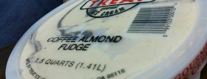 Treat Ice Cream Company is one of San Jose,Cali.