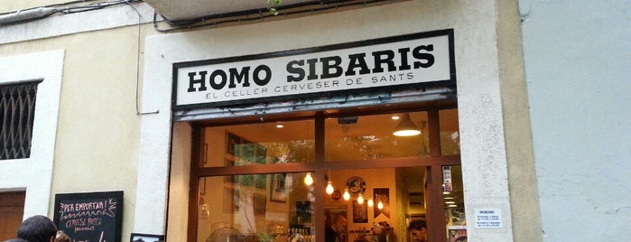 Homo Sibaris is one of Bars.