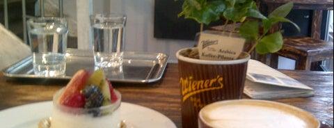 Wiener's is one of Kaffee/Kuchen - Barometer 2014.