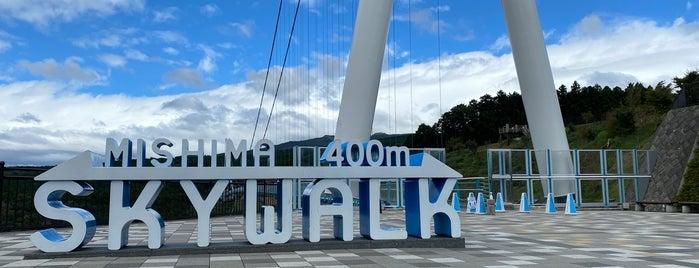三島スカイウォーク展望台 Mishima Skywalk North Area is one of Kansai.