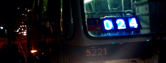 MTA Bus - M66 is one of Mark's Travel.