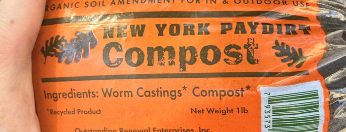 Lower East Side Ecology Center Compost Stand is one of สถานที่ที่ Jen ถูกใจ.