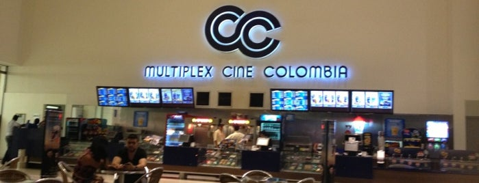 Cine Colombia | Multiplex Santafé is one of Yunus'un Beğendiği Mekanlar.