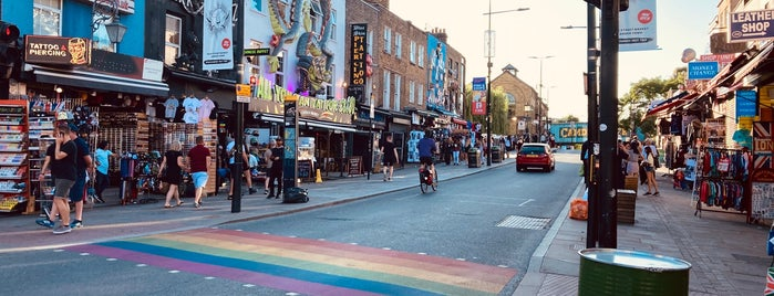 Camden Market Lion is one of London, Britain.