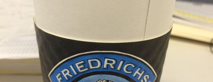 Friedrich's Coffee is one of Central Iowa Coffee Guide.