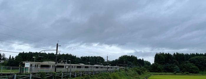 北大石田駅 is one of JR 미나미토호쿠지방역 (JR 南東北地方の駅).