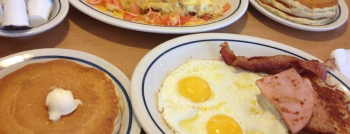 IHOP is one of I've Been Here.