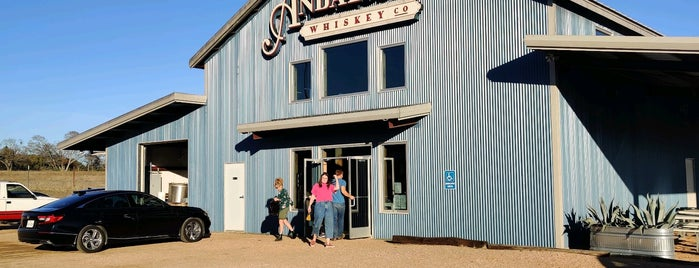 Andalusia Whiskey Company is one of Austinites.