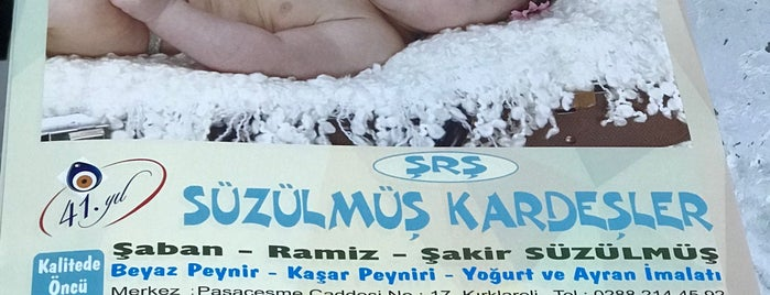 Süzülmüş Kardeşler is one of Kırklareli.
