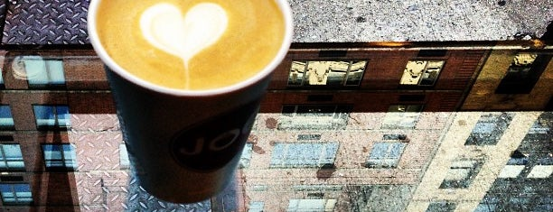 Joe Pro Shop is one of New York's Best Coffee Shops - Manhattan.