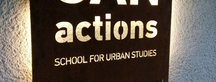 CANactions School for Urban Studies is one of !.