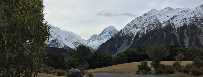Hermitage Aoraki Hotel Mount Cook Hotel is one of 宿.