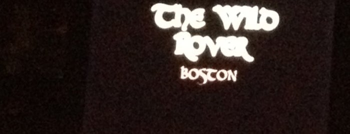 The Wild Rover is one of Pubs, Clubs & Restaurants in Greater Boston.