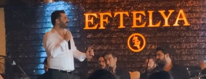 Eftelya Restaurant is one of Istanbul Culinary Guide of Cem Oz.