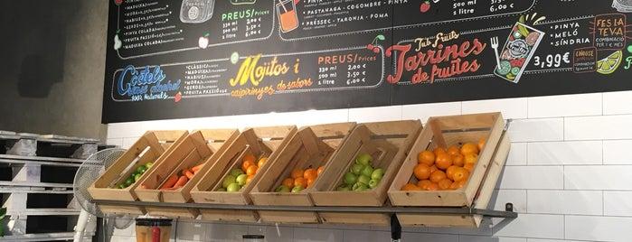El Fruiter del Gótic is one of Spain.