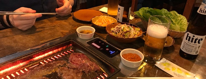Korean BBQ is one of Edinburgh.