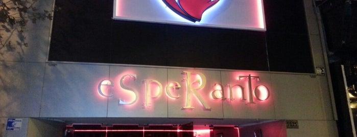 Esperanto is one of Noche BAIRES.