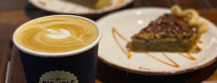 The Pie Hole is one of Coffee shops   Riyadh ☕️🖤.