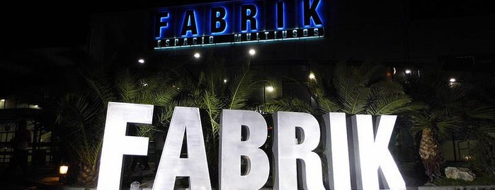 FABRIK is one of Madrid.